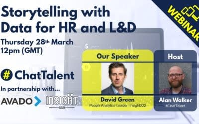 WEBINAR: Storytelling with Data for HR and L&D