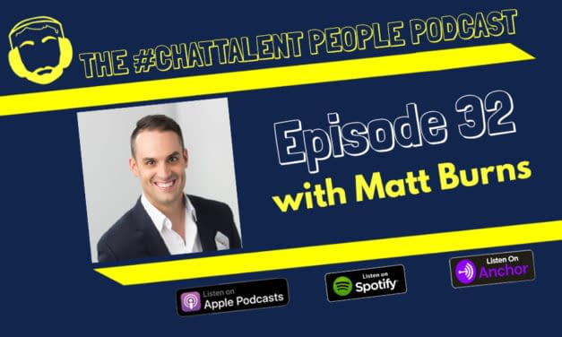 Episode 32: Matt Burns on How digital transformation should be an ongoing state, not a moment in time.