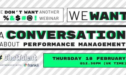 A Conversation about Perfomance Management
