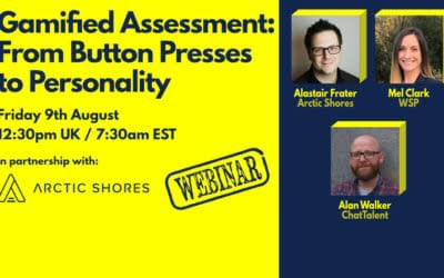 WEBINAR: Gamified Assessment: From Button Presses to Personality