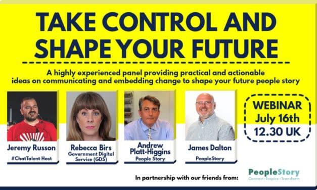 WEBINAR: Take control and shape your future