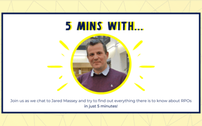 5 minutes with… Jared Massey from Hudson RPO