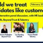 Should we treat candidates like customers?