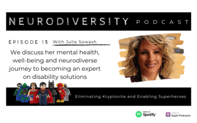 Julie Sowash – Disability Solutions & Co-Host, Crazy and The King Podcast (Ep.15)