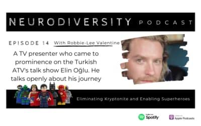 Robbie-Lee Valentine – Superhero, writer and TV presenter (Ep.14)