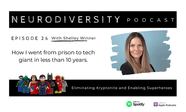 Shelley Winner – A Winners Story, from prison to tech giant (EP.26)
