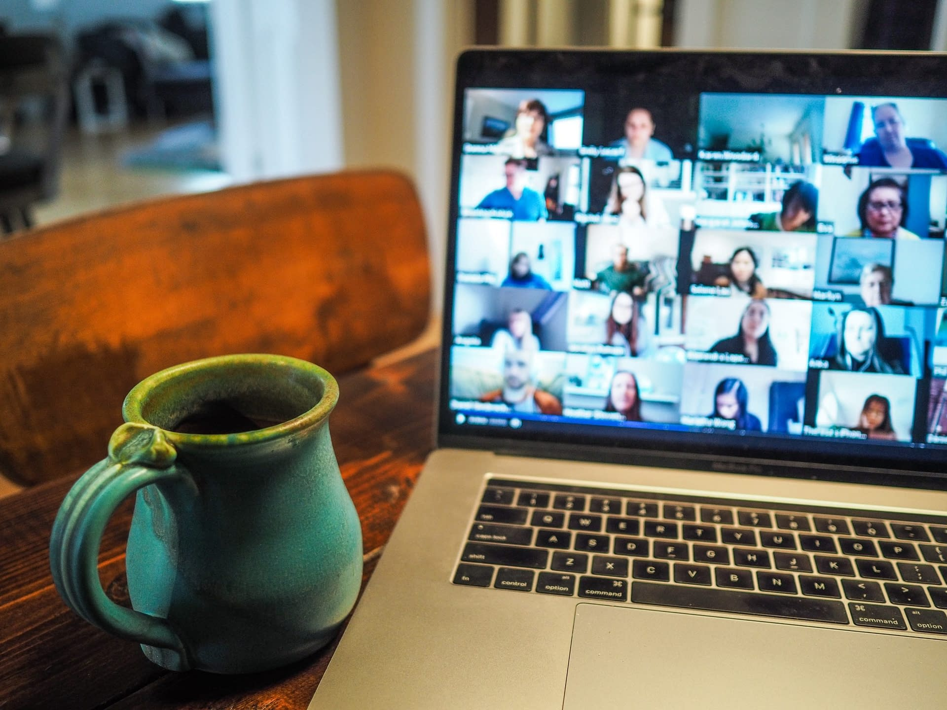 Engaging your team with just a webcam and screen