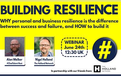 WEBINAR: Building Resilience